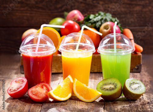 Aluminium Sap Fresh juices with fruits and vegetables