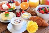 Fototapety frühstückstisch