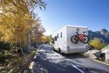 Fototapety Voyage en Camping Car