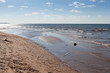 Scenic view of a beach against sky, Prince Edward Island, Canada