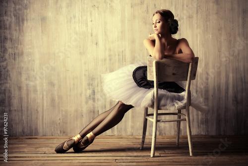 Obraz na Szkle graceful dancer