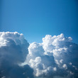 Amazing Aerial view of Clouds close-up, background with copy - 97631248