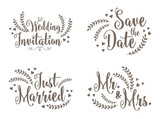 Lovely Wedding Design Set