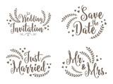 Lovely Wedding Design Set - 97647685
