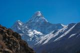 Mount Ama Dablam in Himalayas
