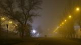 Atmosphere pollution. Urban scene. Canon 5D MK III