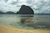 Fototapeta Do akwarium - magiczna góra, Filipiny, morski krajobraz, morze, egzotyczna wyspa © iluvdesign