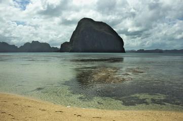 magiczna góra, Filipiny, morski krajobraz, morze, egzotyczna wyspa