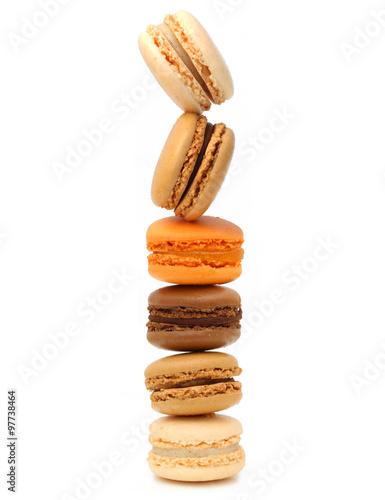 Macarons - pâtisseries françaises Poster