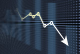 Financial and business graphs - 97810891