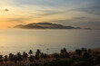 Постер, плакат: Sunrise at Nha Trang beach Khanh Hoa Vietnam Nha Trang is well known for its beaches and scuba diving and has developed into a destination for international tourists