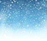 Fototapety Abstract snow theme background 7