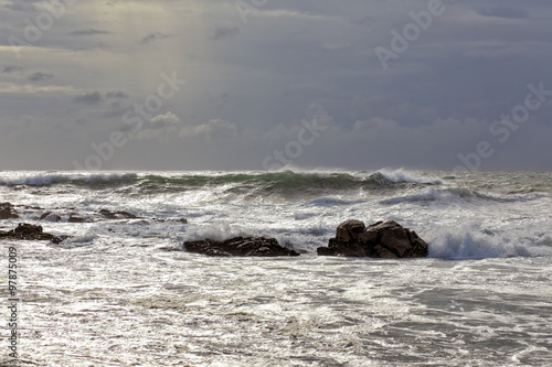 Northern portuguese coast seascape