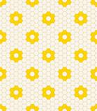 honeycomb flower pattern.