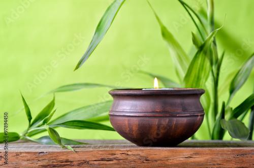 Obraz na Szkle Aroma candle