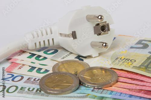 Stromkosten sparen Poster