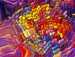Stained Glass Abstraction - 97945025