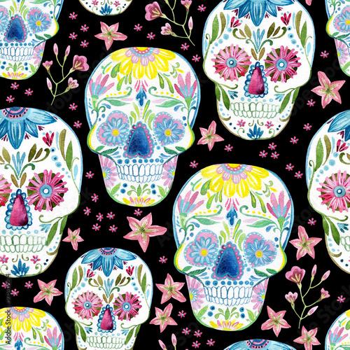 Sugar skull painting - 97949224
