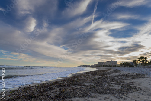 Playa morro de gos oropesa del mar castell n stock - Mare castellon ...