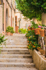 Fototapeta starożytne schody