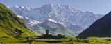 Mountain panorama in Georgia