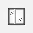 Window icon or line logo - 98078275