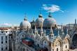 Quadro Roof details of Basilica San Marco, Venice