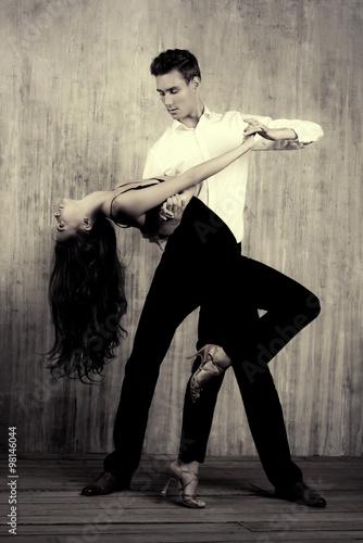 dancing tango Plakát