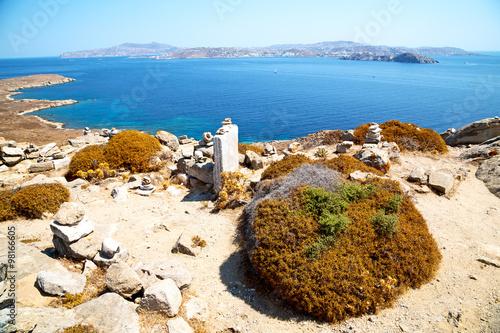 Foto op Plexiglas Cyprus temple in delos the historycal old ruin site