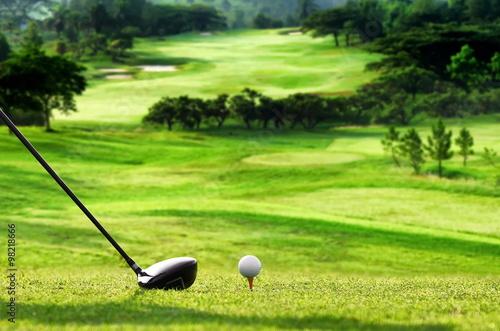 Fototapeta Best Golf picture series