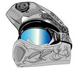 Fototapety helmet gray