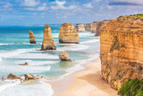 Fototapety Twelve Apostles rocks on  Great Ocean Road, Australia