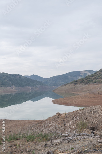 Poster natural water reservoir