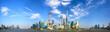 Quadro Shanghai Pudong skyline panorama, China