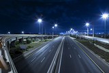 Empty Highway At Night - Fine Art prints