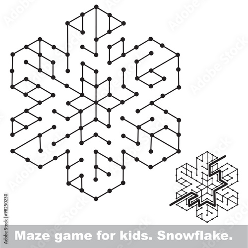 Search The Way Kid Maze Game To Be Colored