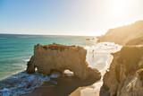 Fototapety Beautiful and romantic El Matador Beach in Malibu