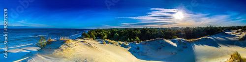 Panorama pejzaż morski