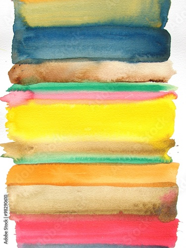 Juliste abstract watercolor background design