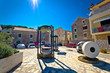 Traditional dalmatian town of Tisno square