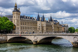 Castle Conciergerie - former royal palace and prison. Paris.