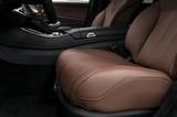 Prestige car interior background. Driver