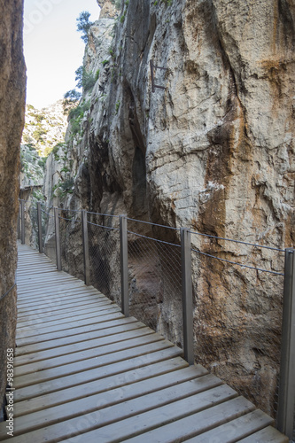 Poster  'El Caminito del Rey' (King's Little Path), World's Most Danger