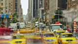 New York City Streets Time lapse shot of New York City streets. - 98399841