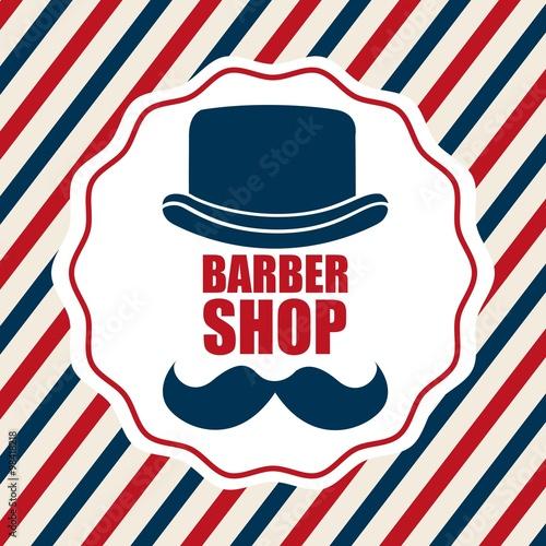 Fototapeta barber shop design