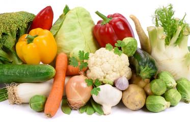 Frisches Gemüse vom Bauernmarkt