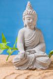 Buddah im Sand