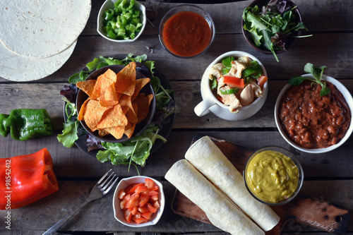 typical dishes of mexico Poster