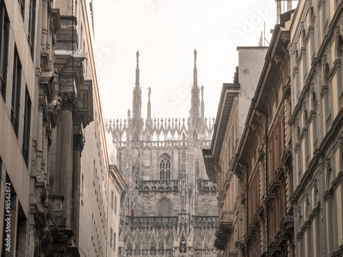 Foto op Canvas Milan milano dome