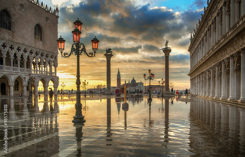 Plakát Venezia, Piazza San Marco